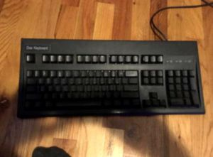 Dell KB113P USB Wired Slim Black Quiet Computer PC Or MAC Keyboard for Sale in Lancaster, PA