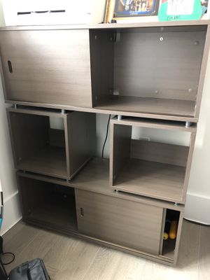 Container Store Sliding Modern Storage Cubes/shelving for Sale in New York, NY