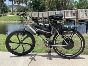 Ebike Conversion kit on a giant 26 inch bike for Sale in Orlando, FL