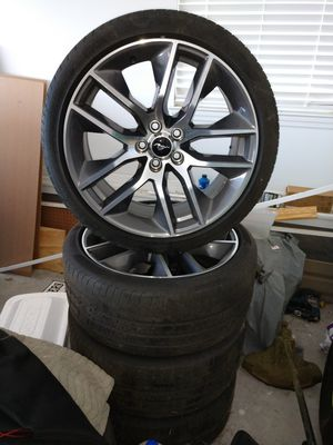 20 in factory Ford wheels and tires off a 2015 mustang GT for Sale in Fitzgerald, GA