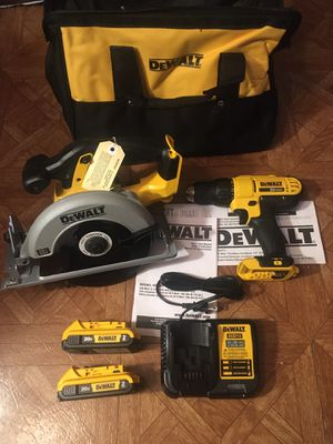 DeWalt. 20V MAX Lithium Ion 2-Piece Cordless Combo Kit. for Sale in Brooklyn, NY