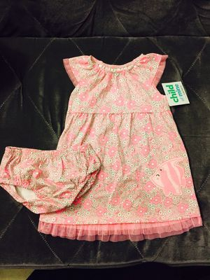 Carter's Baby Girl Pink & White Floral Dress for Sale in Coronado, CA