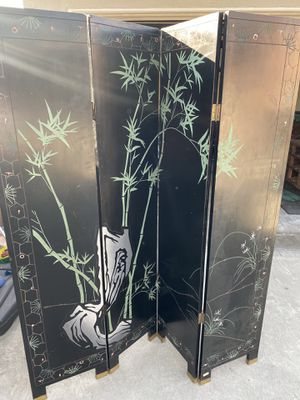Antique/ Partition/ vintage Asian room divider for Sale in Whittier, CA