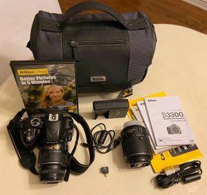 Nikon D3300 Camera for Sale in San Antonio, TX