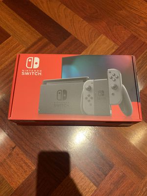 BRAND NEW UNOPENED NINTENDO SWITCH GRAY for Sale in Scottsdale, AZ