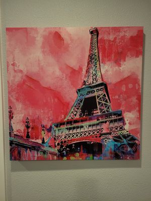 Paris canvas wall art : painting for Sale in Redmond, WA