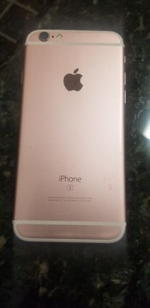 iPhone 6s (needs to get repaired ) Clean IMEI no iCloud for Sale in Hinsdale, IL