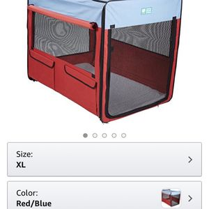 Collapsible Soft Dog Crate Kennel XL for Sale in Seattle, WA
