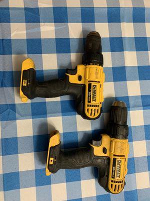 2 Dewalt drills for Sale in Fort Bragg, NC