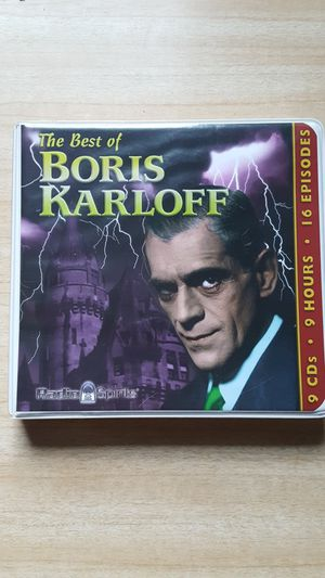 The best of Boris Karloff Radio Spirits CDs for Sale in Akron, OH