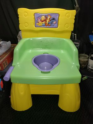 Winnie the pooh potty chair/ step stool for Sale in Zanesville, OH
