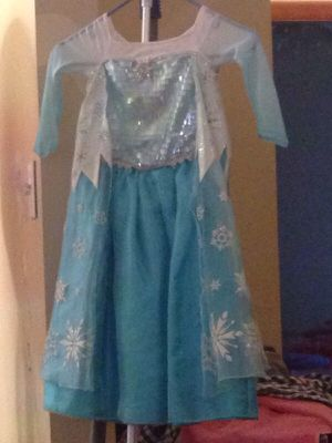 Authentic Disney's limited edition Elsa dress for Sale in Everett, MA