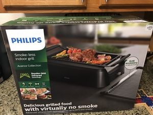 Philips smoke-less grill... smoke-less infrared technology for Sale in Palo Alto, CA
