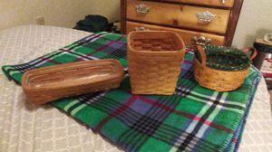 Longaberger baskets for Sale in Lancaster, OH