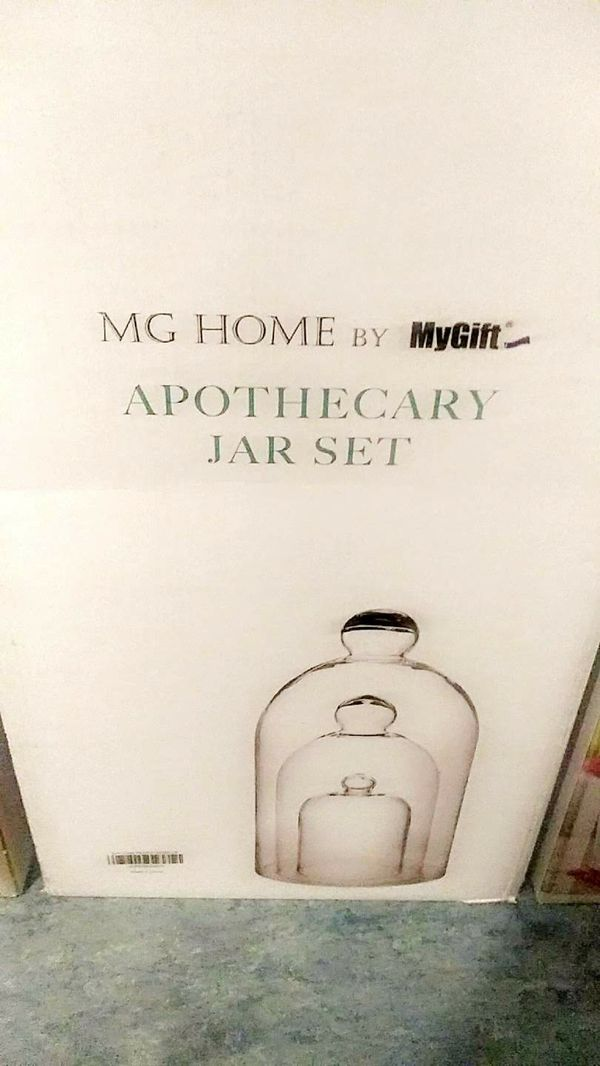 MG Home Jar set