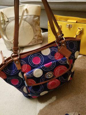 Authentic coach bag for Sale in Woodbridge, VA