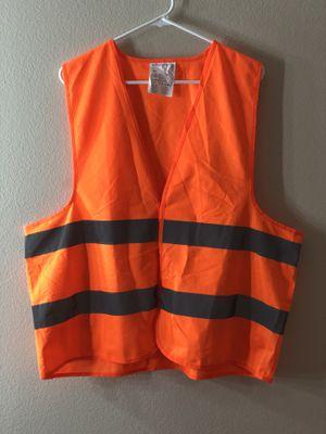 High Visibility Safety Vest Orange En Iso 20471 for Sale in Palm Bay, FL