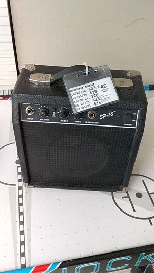 Guitar amplifier for Sale in San Benito, TX