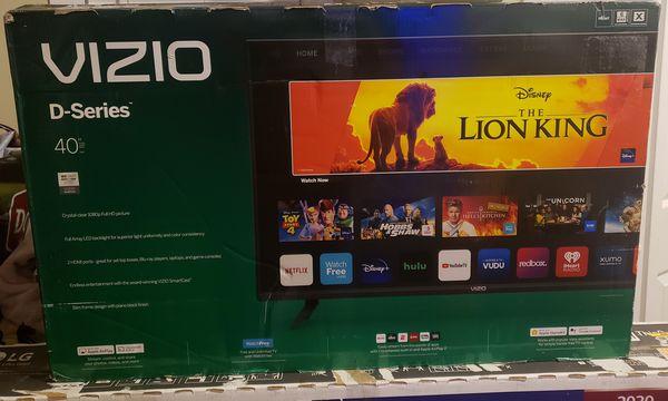"Brand new VIZIO - 40"" Class D-Series LED Full HD SmartCast TV Model:D40F-G9"