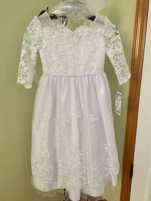 Iris & Ivy Girl's Communion/Flower Girl Dress (Lace) for Sale in Queens, NY