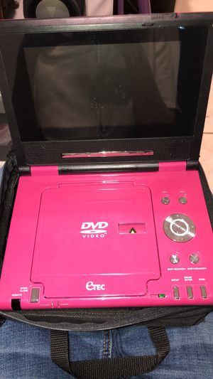 Pink portable DVD player for Sale in Fort Lauderdale, FL