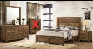 Furniture of america 4pc. Queen size Bedroom set for Sale in Fresno, CA