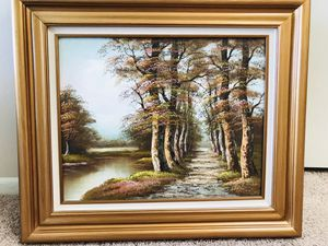 Vintage oil painting signed for Sale in Warrenville, IL