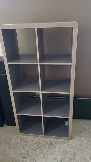 Kallax 8 cube shelves storage dresser for Sale in La Mesa, CA
