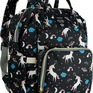 Black Unicorn Diaper Bag for Sale in San Bernardino, CA