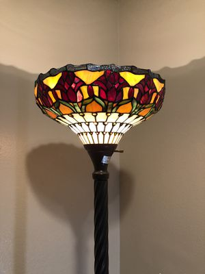 Enjoy Stained Glass Lamp for Sale in Upland, CA