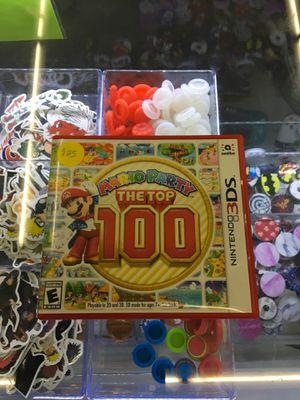 Mario Party: The Top 100 - Nintendo 3DS for Sale in San Bernardino, CA
