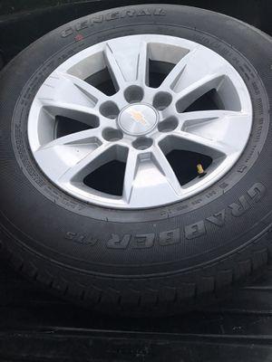 2020 Chevy Silverado rims and tires for Sale in Duarte, CA