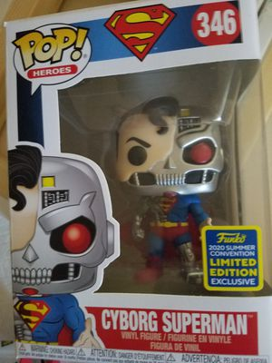 Funko pop Cyborg Superman SDCC DC Heroes for Sale in Ontario, CA