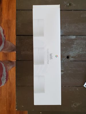 Google mesh wifi router 3 pack for Sale in Grove City, OH