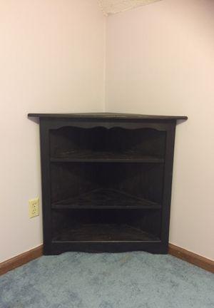 Black Corner shelf for Sale in Knightdale, NC