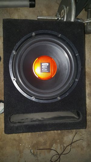 12 inch dual sub for Sale in Ontario, CA