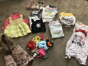 Baby girl clothes for Sale in Oakland, CA