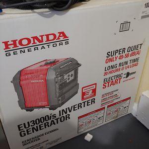 Eu3000is brand new generator 3000 watt for Sale in San Francisco, CA