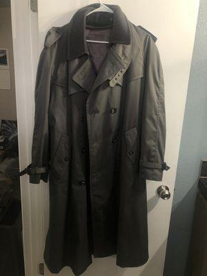 Men's grey trench coat for Sale in Phoenix, AZ