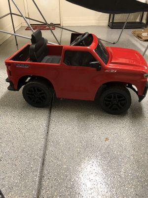 Chevy Silverado toddler truck for Sale in Mesa, AZ