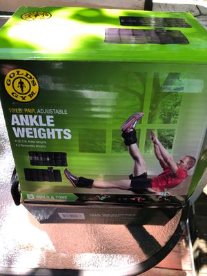 Ankle weights $15 for Sale in Springdale, AR