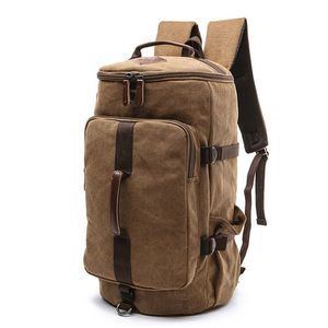 Brand New Coffee Brown Backpack Duffle School Laptop Hiking Travel Bag for Sale in Chicago, IL