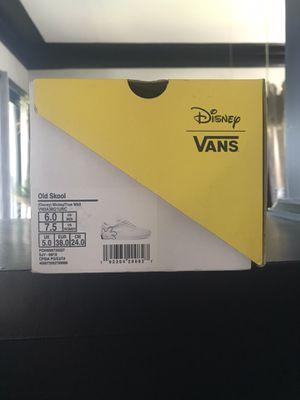 Vans Old School Disney Mickey Mouse 7.5 w/6m for Sale in Phoenix, AZ
