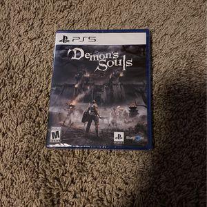 Demon's Souls Ps5 for Sale in Phoenix, AZ