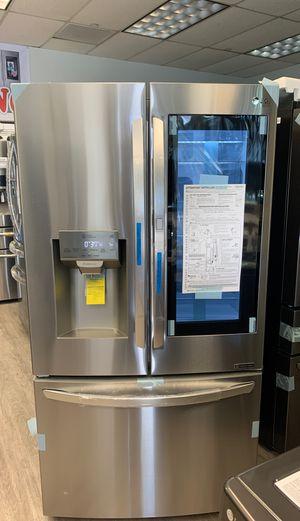3 Door French Door Refrigerator Stainless Steel LG Water Ice Maker InstaView for Sale in Norwalk, CA
