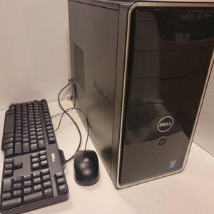 Gaming Dell Inspiron 3847 i3 4160 3.6 Ghz 12gb DDR3 AMD Rx 560 4GB 128gb SSD 500gb Hdd for Sale in Sacramento, CA