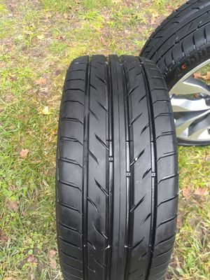 Wheels with new tires Achilles for Sale in S CHESTERFLD, VA