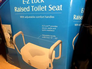 Raised Toilet seat for Sale in Naperville, IL