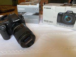 Canon 80D 16-300 tamron lens for Sale in Lakeside, CA