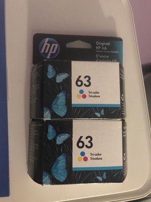 Hp 63 ink tricolor for Sale in Norwalk, CA
